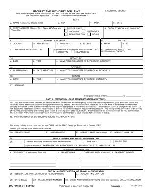 share form::da-31-1447