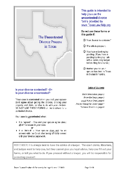 Share formtexas divorce no kids 5159 content preview form name solutioingenieria Image collections