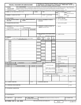 Share Form::Military Travel Form DD 1351-2-1232