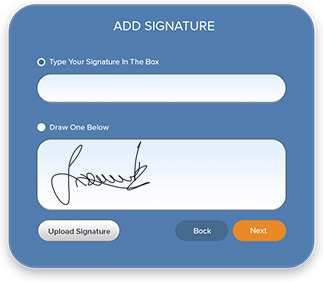 sign a documents with digital signature