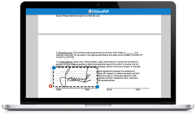 Add Digital Signature to Any Document