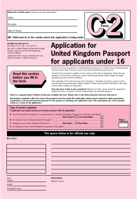 Fill Any PDF Free Forms for passport : Page 1