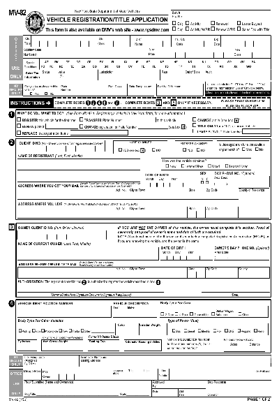 Fill Any PDF Free Forms for nys : Page 1