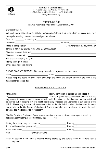 Fill Any PDF Free Forms for girl : Page 1
