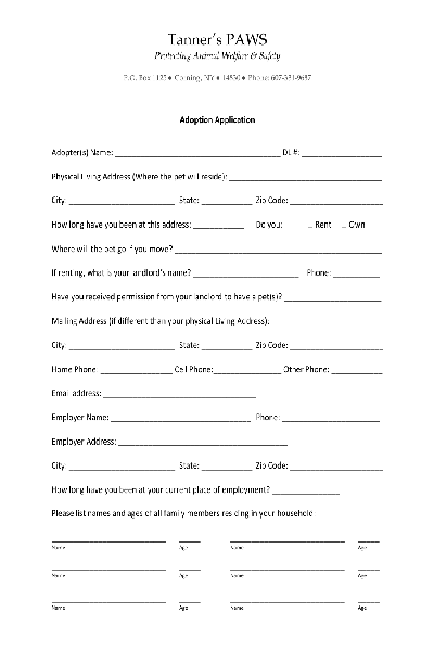 Fill Any PDF Free Forms for application : Page 9