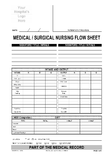 fill any pdf free forms for medical page 1
