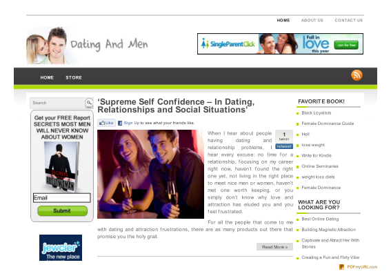 online dating secrets pdf Get trusted online dating advice from the experts at datingadvicecom tips for men and for women on creating an online profile, email etiquette, and more.