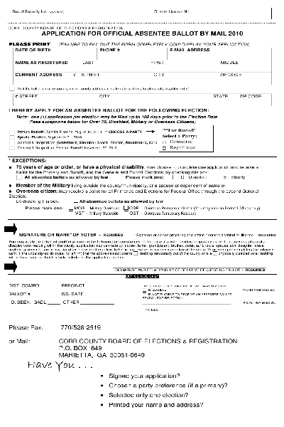 AbsenteeApplicationMail201000001 Application Form For Cda on field work tracking, renewal letter recommendation, training verification, summary education,