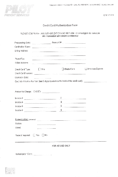 Fill Any PDF Free Forms for credit : Page 1