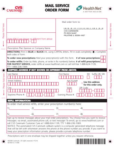 cvs caremark mail service | 16.04