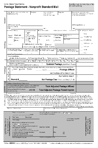 Usps Form 3602 Nz